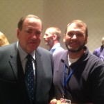 Rev. Mike Huckabee and Ed Holliday