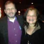 Ed Holliday and Dr. Alveda King (niece of Martin Luther King, Jr.)